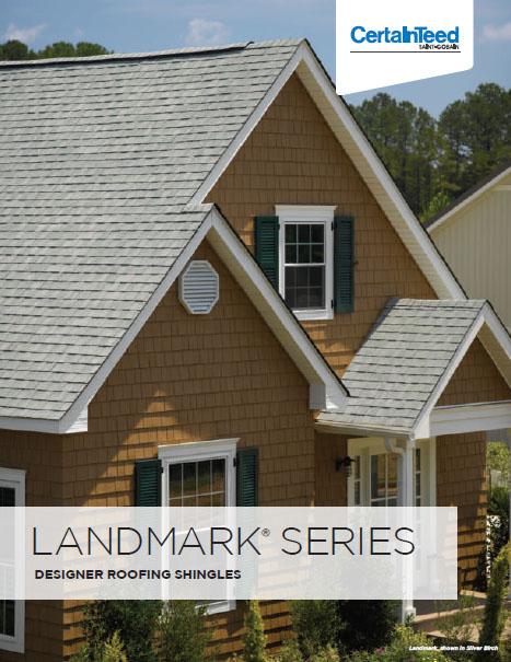 Landmark Series Designer Roofing Shingles Brochure