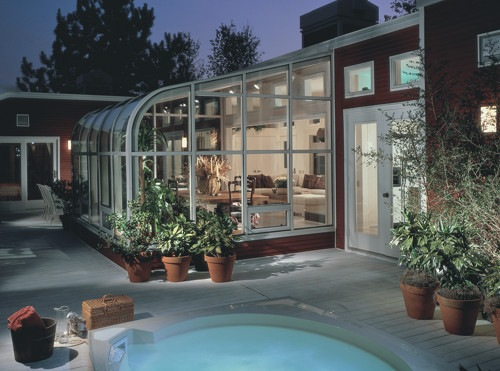 Curved Solarium Sunroom by Four Seasons