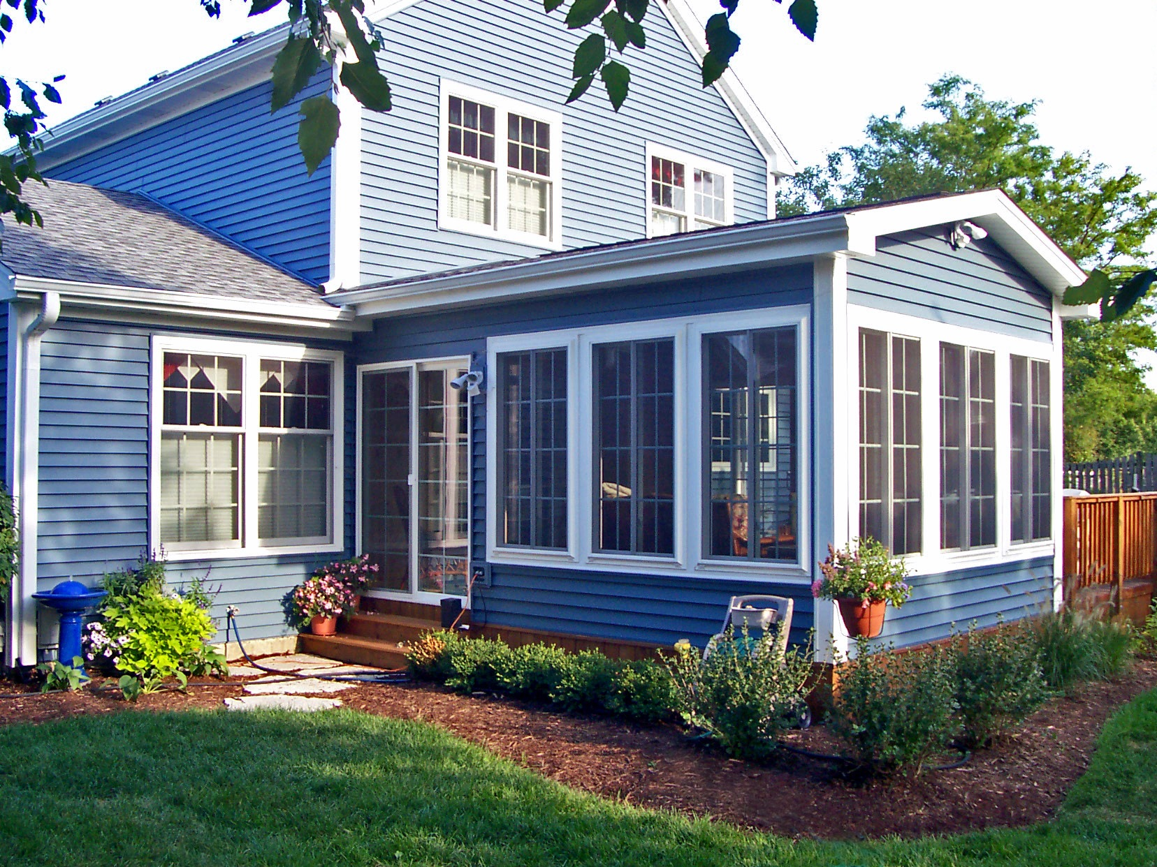 Sunrooms shiretown home improvements glass for Home plans with sunrooms