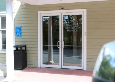shiretown-installs-new-door-entrance-at-the-comfort-keepers-in-plymouth-ma-side-entrance