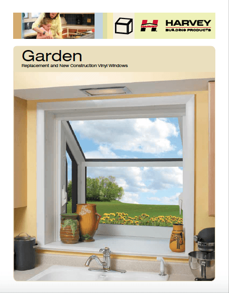 Garden windows by Harvey