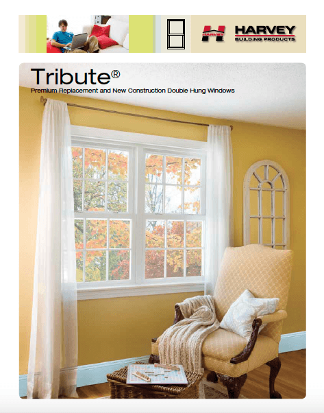 Tribute - Harvey Premium Replacement and New Construction Double Hung Windows