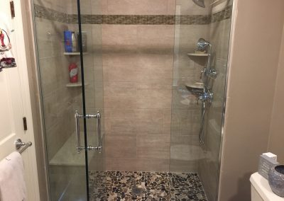 Project Gallery Shiretown Home Improvements Glass - Bathroom remodeling plymouth ma