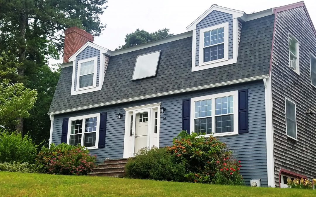 Politis Trim and Exterior Home Makeover in Plymouth