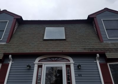 Skylight and Roof Before