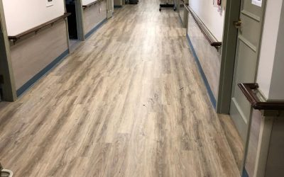 Shiretown Installs Armstrong Floor at Windemere Nursing & Rehabilitation Center
