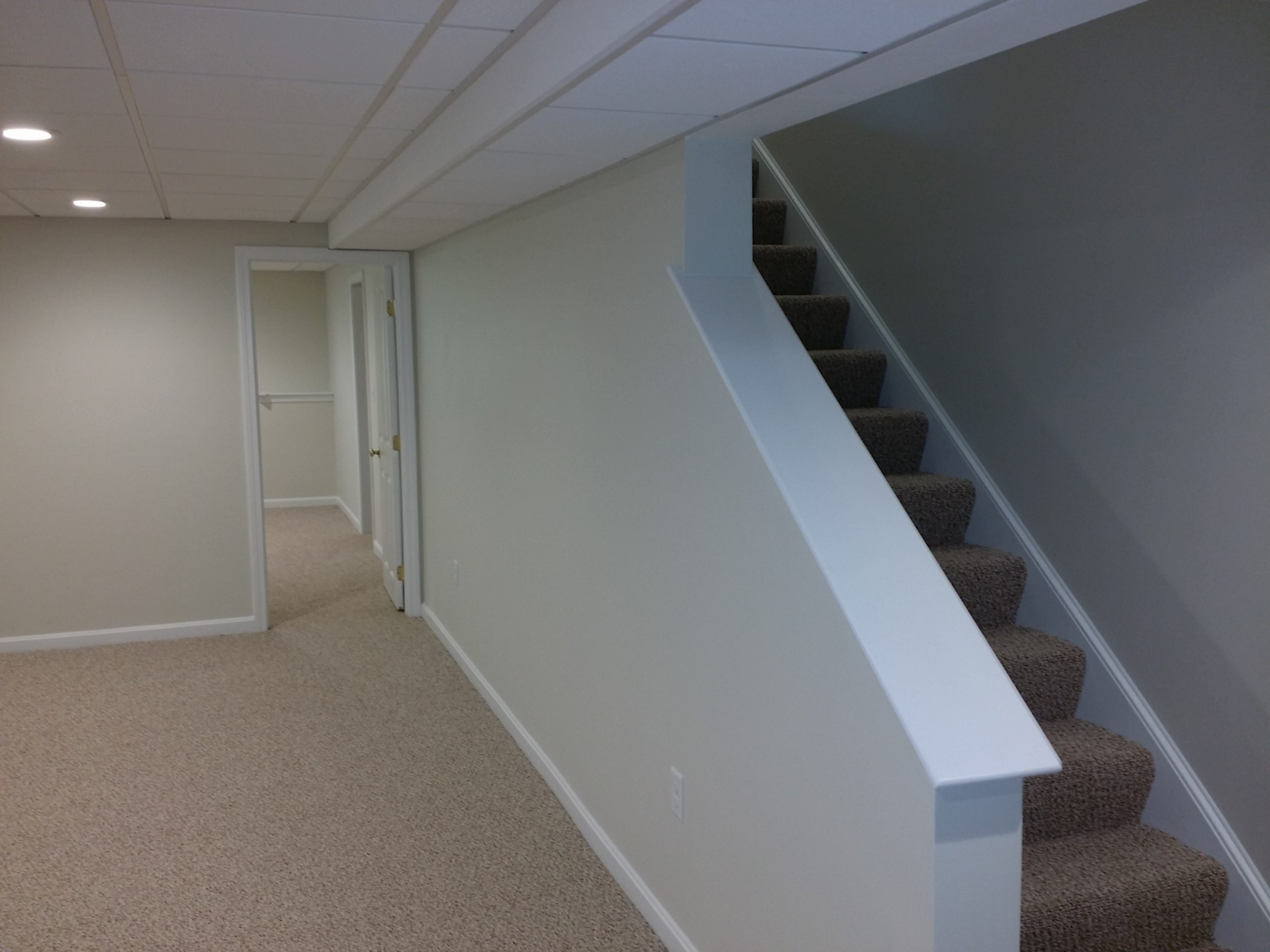 Finished Basement Project Plymouth MA - After