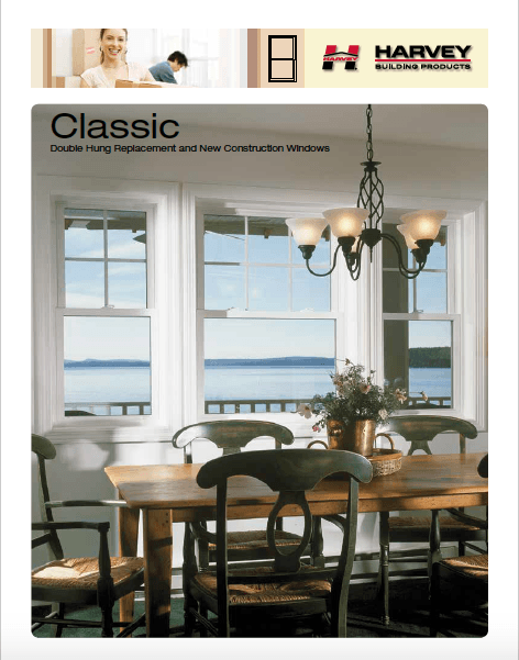 Classic Harvey Windows - Double Hung Replacement and New Construction