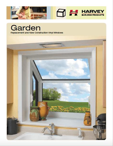 Garden windows by Harvey