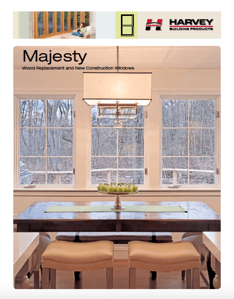 Majesty - Harvey Wood Replacement and New Construction Windows