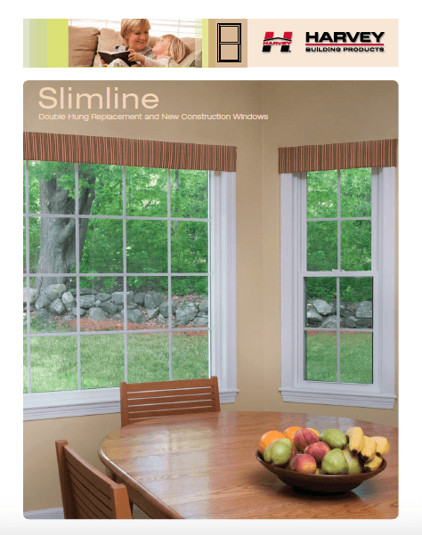 Slimline - Harvey Double Hung Replacement and new Construction Windows
