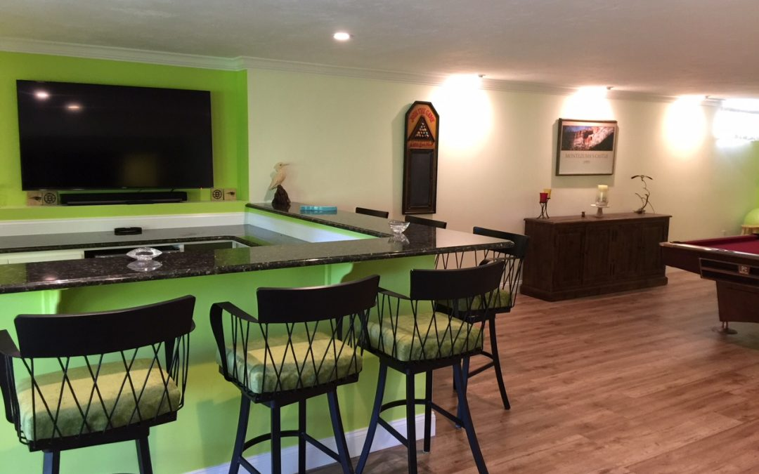 Shiretown Finished Basement Systems – Let your studs come to life – use your basement space for office, family rooms or recreation