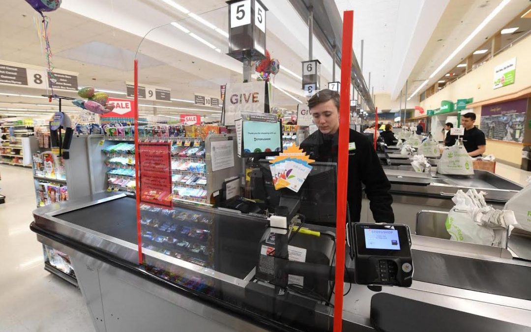 Custom Acrylic Retail Barriers